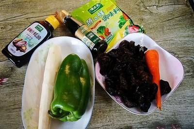 山药炒木耳的做法  健脾益胃的家常菜