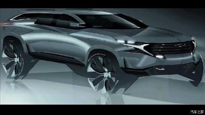 跨界车造型 雪佛兰全新车渲染图曝光