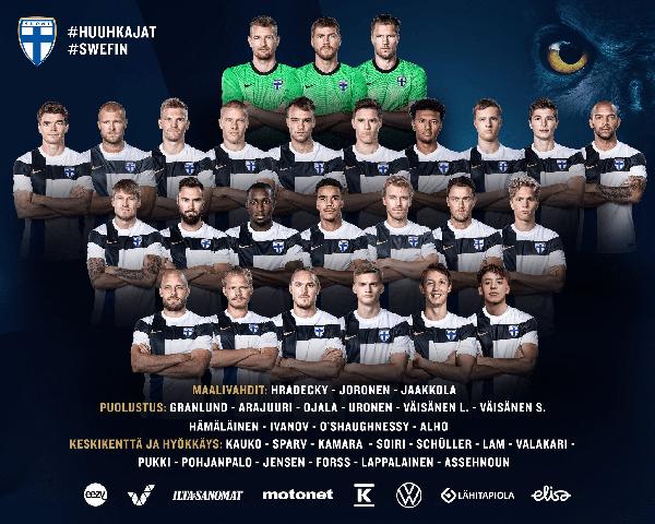 芬兰欧洲杯阵容名单 芬兰欧洲杯阵容有哪些人